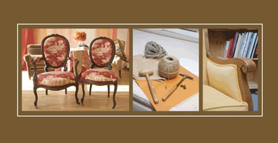 réfection de fauteuil par un tapissier décorateur près de Saint-Mathieu-de-Tréviers